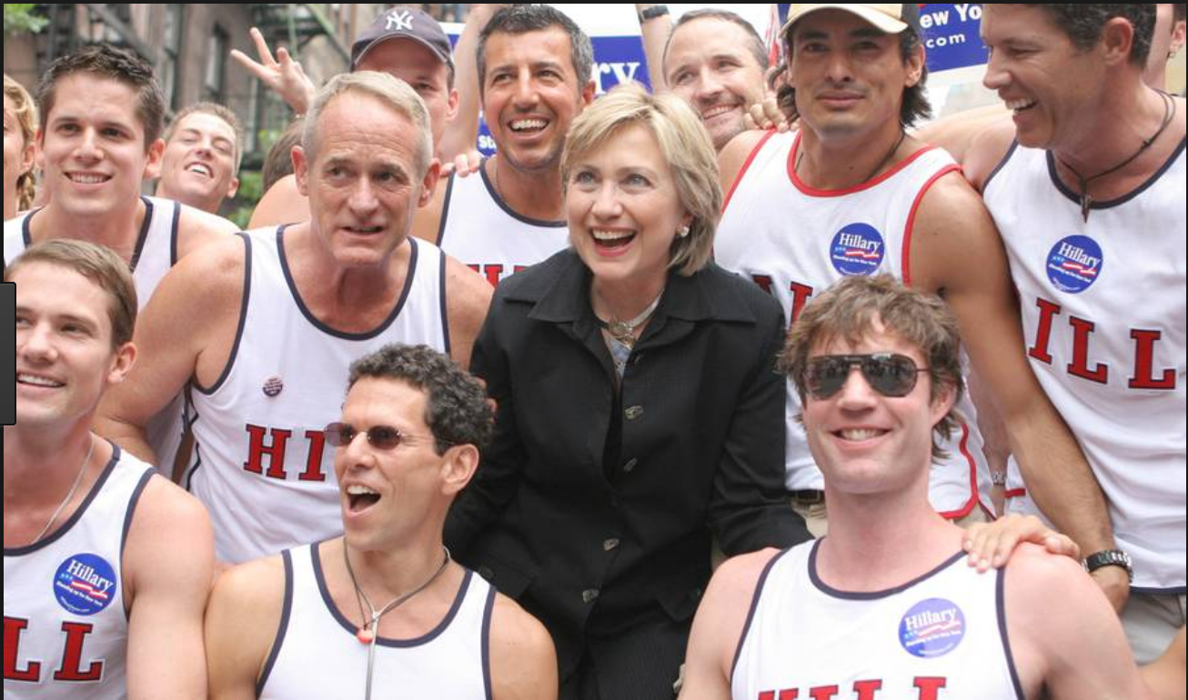 Clinton Gay Pride